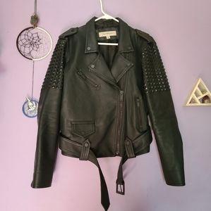⚠️ studded CALVIN KLEIN biker jacket ⚠️